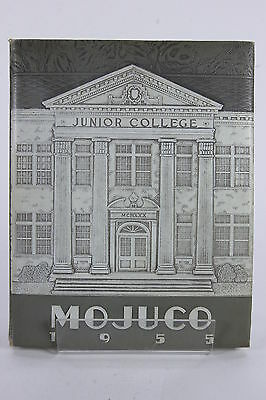 MOJUCO 1955 Moberly Missouri Junior College Yearbook Annual Randolph County MO