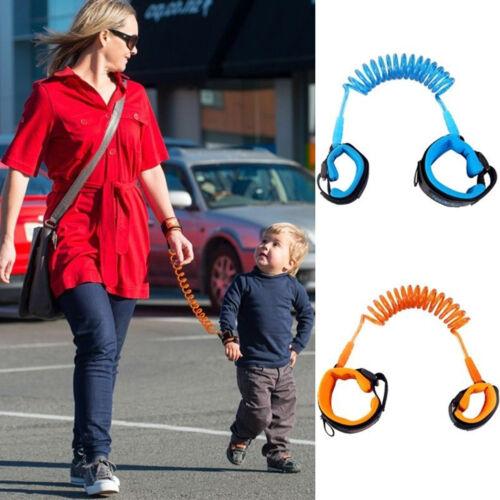 Toddler Baby Kid Safety Harness Hand Belt Anti-lost Walking Strap Wrist Leash ZH