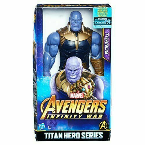 Action Figure Marvel Titan Heroes Avengers Infinity War Hasbro Hulk Thanos