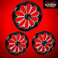 Harley Davidson Free Wheeler Custom wizard Wheels From Ftd Customs
