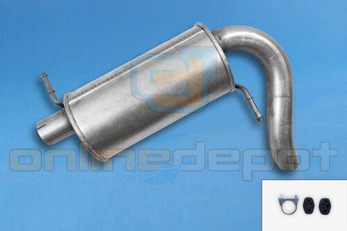 Endschalldämpfer FORD GALAXY 2.0i 2.8i V6 4x4 1995-2006 Endtopf Montagesatz