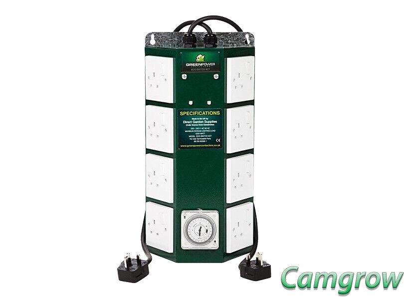 La forma de energía verde - 8 Profesional Contactor Temporizador Hydroponics