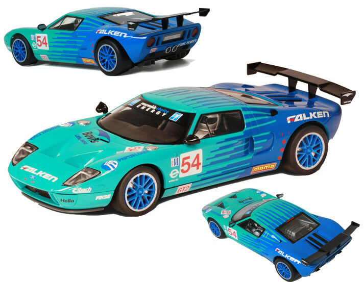 Scalextric - Ford GT-R nero Swan Racing N°54 ALMS 2008 (C3136) - NEW   RARE