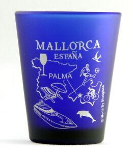 Mallorca Espagne Palma de Mallorca Bleu de Cobalt Émerisée Verre à Shot H6IdNxdf-09153203-507719570