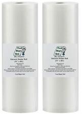 """Food Magic Seal 2-11""""x50' Rolls for Vacuum Sealer Food Storage Bags Great $Saver"""