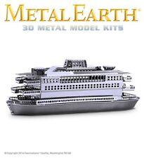 Fascinations Metal Earth Commuter Ferry Boat Laser Cut 3D Model