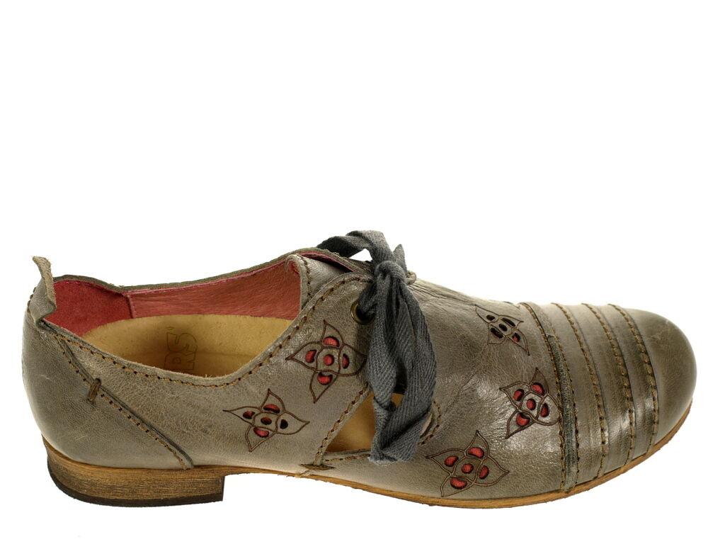 Rovers Schuhe Musterschuh 530.. Gr. 37 Original Schuhe  Neu grau UNIKAT