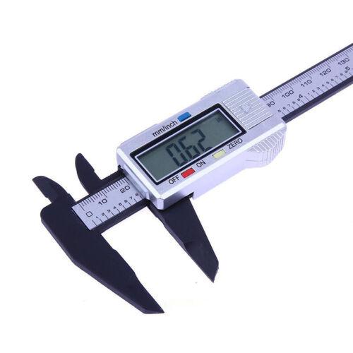 6ZOLL 150mm LCD Digital Messschieber Schieblehre 6zoll Schiebelehre Mikrometer#J