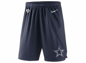 9470217f Details about Dallas Cowboys Nike Youth Boys DRI-FIT Fly Knit Shorts- Navy
