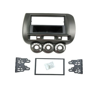 1-Or-2-Din-Radio-Fascia-for-Honda-Jazz-Stereo-Panel-Dash-Mount-Trim-Kit-Frame