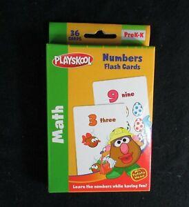 Playskool-Mr-Potato-Head-JUMBO-FLASH-CARDS-Numbers-Preschool-Teacher-Resource