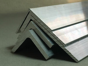 Aluminium Extrudé Angle- Divers Tailles - Longueur 2000 Mm ModèLes à La Mode
