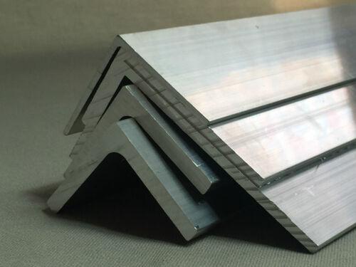Angolo in alluminio estruso Varie Taglie 500mm-lunghezza 1000 mm