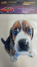 BRAND NEW BEAGLE PUPPY STICKER THREE DIMENSIONAL 25 x 19 CMS