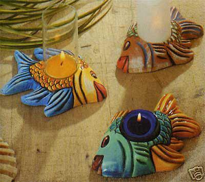 Giessform *Kerzenhalter Fische*  NEU & OVP 2000269
