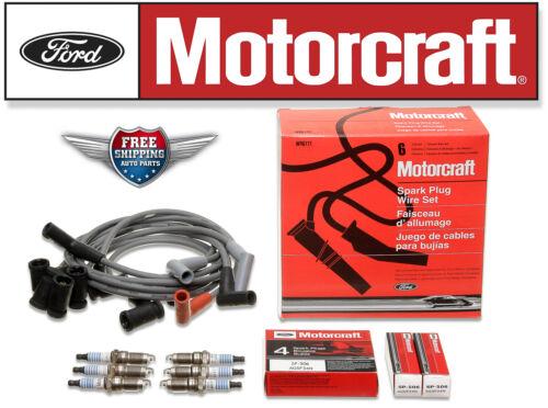 Set of Motorcraft Spark Plug Wire WR6111 /& 6 Spark Plug SP506 Freestar Monterey