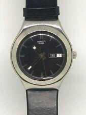 2000  Swatch Watch Blackguard Too YGS714 Irony reloj Armbanduhr Swiss