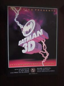 Details about Batman 3D NM 1st 1990 TPB GN Graphic Novel ~ Unread - Fast  Ship ~ John Byrne