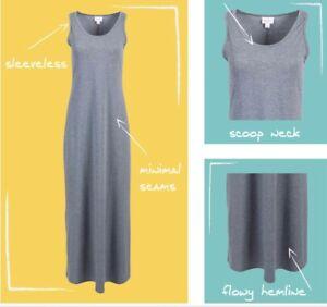 65784fdb3bc LuLaRoe NWT Dani Dress - Sizes Available XS-XL - Solid Gray - So ...