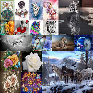 5D-DIY-Diamond-Painting-Animals-Cross-Stitch-Kit-Home-Art-Decor-Embroidery-Craft