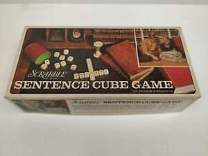 1971-Selchow-amp-Righter-Scrabble-SENTENCE-CUBE-GAME