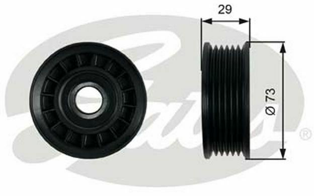 GATES Drive Belt Idler Pulley T36398 - Discount Car Parts