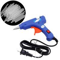 50Pcs 100mm x 7mm Hot Clear Melt Glue Adhesive Sticks For Electric Glue Gun