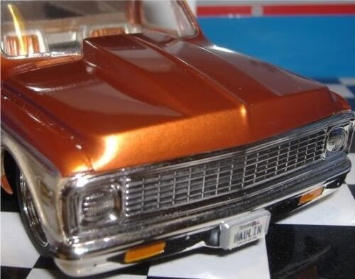 LEX-039-S-SCALE-MODELING-Resin-Cowl-Hood-for-039-72-Chevy-P-U-AMT-1-25-HOT