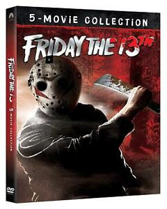 Dvd-Venerdi-13-5-Film-Collection-5-DVD-Horror-NUOVO