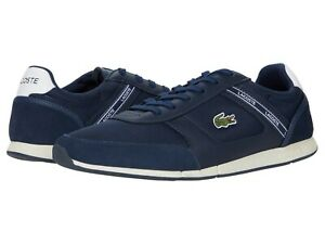Men-039-s-Shoes-Lacoste-MENERVA-SPORT-0120-1-Lace-Up-Sneakers-40CMA0036092-NAVY