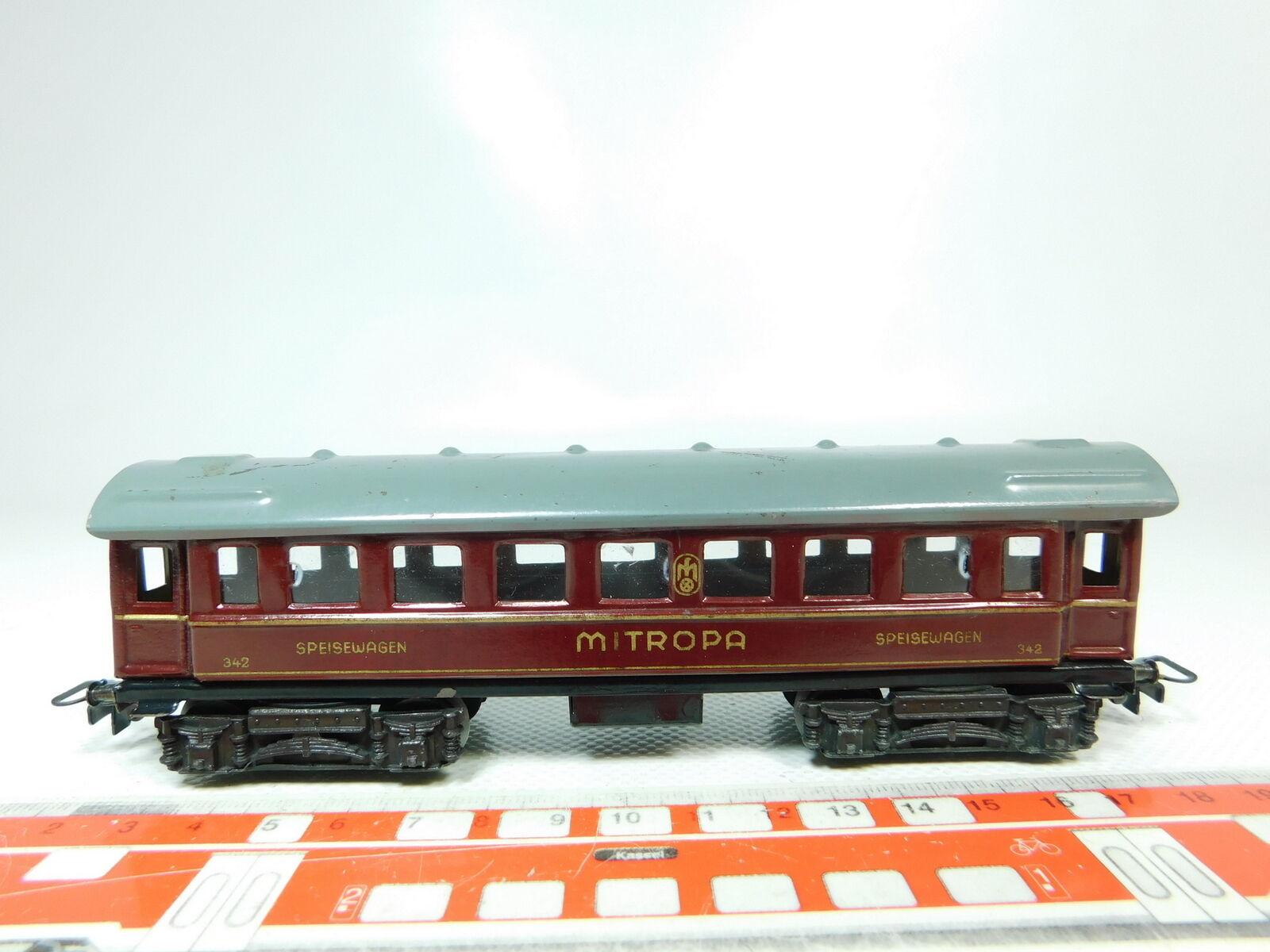 BH4360,5   marklin H0 00 AC Mitropa BlechSpeisewagen 342
