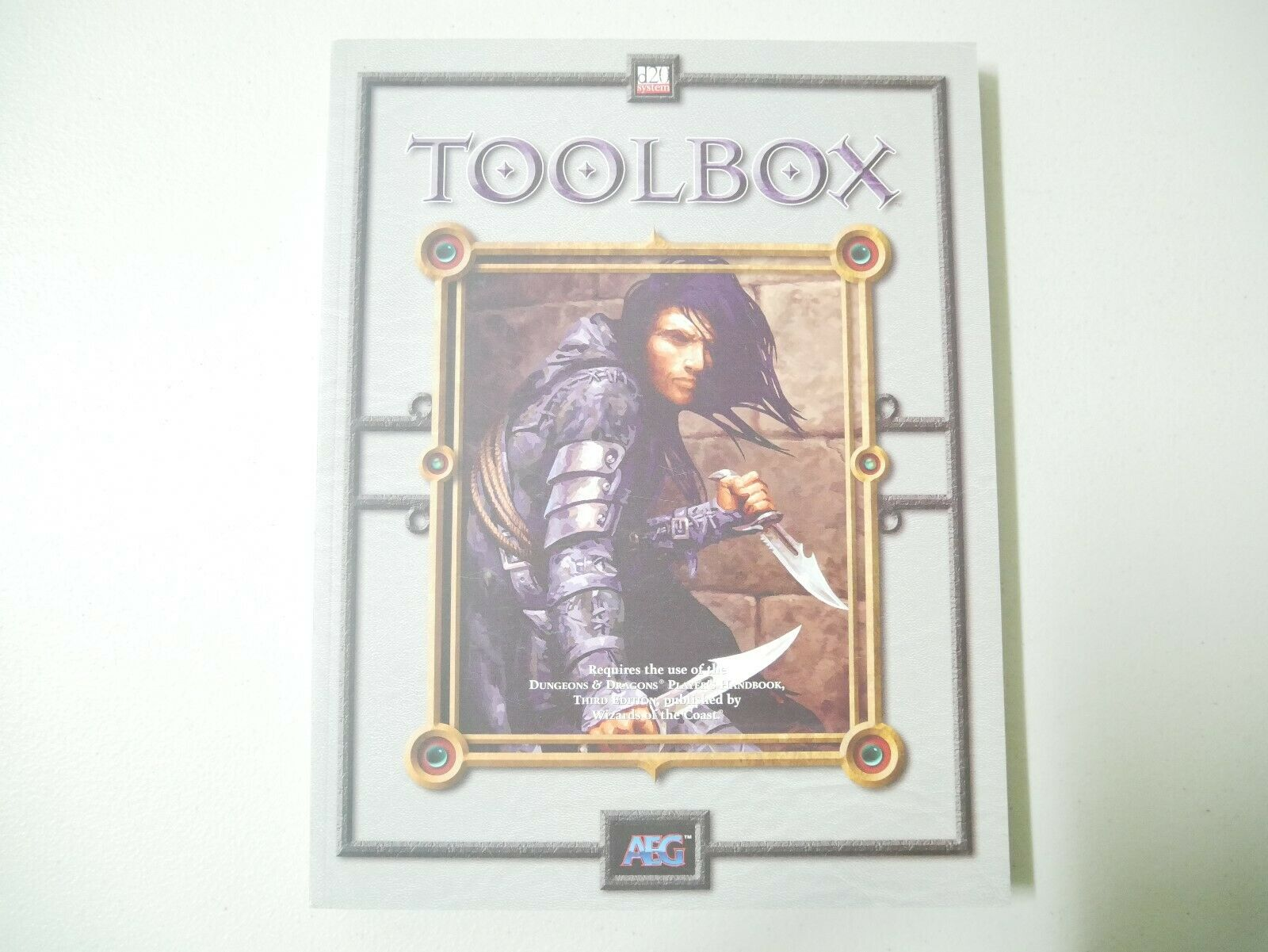 Dungeons & Dragons Toolbox D20 System Paperback Guide Book Unused New