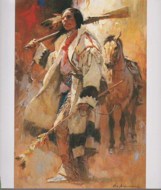 Native American Indians Counting Coups, Horses--Western Art Print