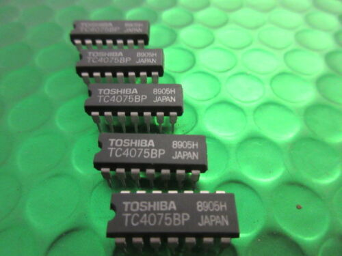 TC4075BP OR GATE IC. TOSHIBA. **5 CHIPS PER SALE**