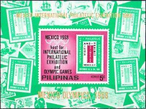Unverausgabt! Philippinen Block IV postfr. zu den Olympischen Spielen 1968 51-4 - Wiehl, Deutschland - Unverausgabt! Philippinen Block IV postfr. zu den Olympischen Spielen 1968 51-4 - Wiehl, Deutschland