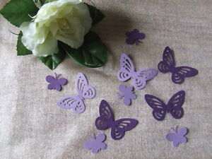 75-PEARLESCENT-SHIMM-LARGE-amp-SMALL-BUTTERFLY-Wedding-PARTY-Table-Confetti-Topper