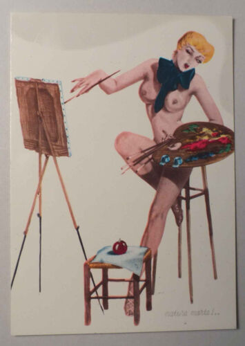 NATURE MORTE EDITIONS FRANCESCA ND//5 * PIN UP CP