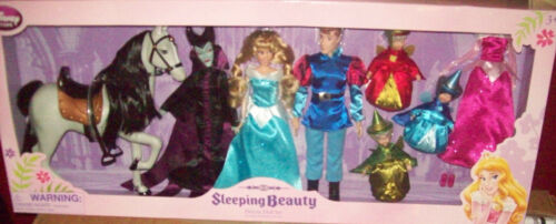 t Disney Sleeping Beauty Deluxe Doll Set NIB