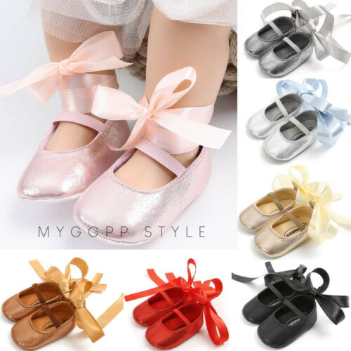 Newborn Baby Girl Princess Shoes Bandage Fashion Toddler First Walkers Kid Shoes