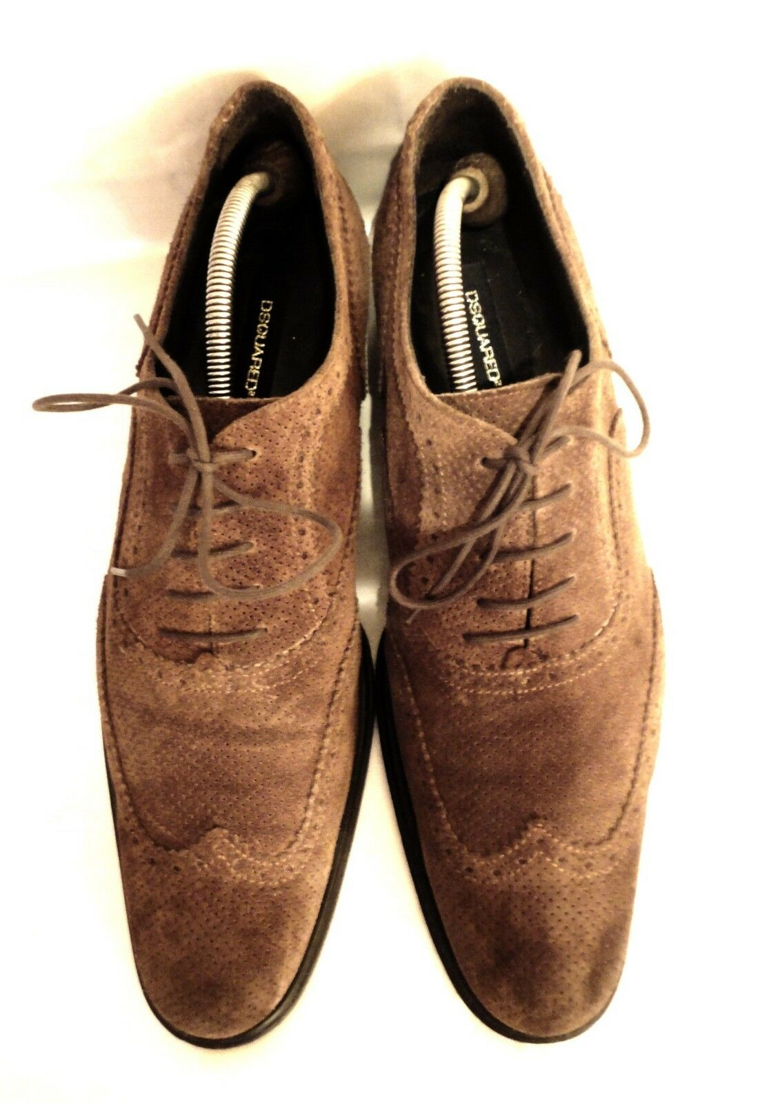 Dsquared2  Brown Suede  Oxford Shoes Size   EU 11 / EU  45 / 3c2122
