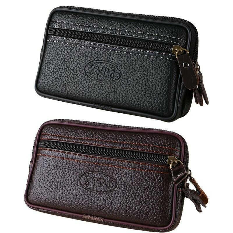 Wallet Hip bag Leather Pockets Money Purse Card holder Phone bags Fanny Pack