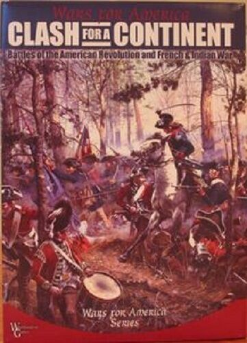 CLASH FOR A CONTINENT - WARS FOR AMERICA - WORTHINGTON GAMES - UNPUNCHED