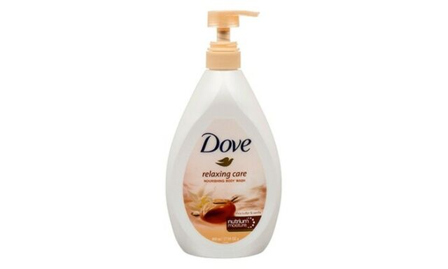 Dove 27 05 Oz Relaxing Care Shea Butter Vanilla Nourish Body Wash With Pump For Sale Online Ebay