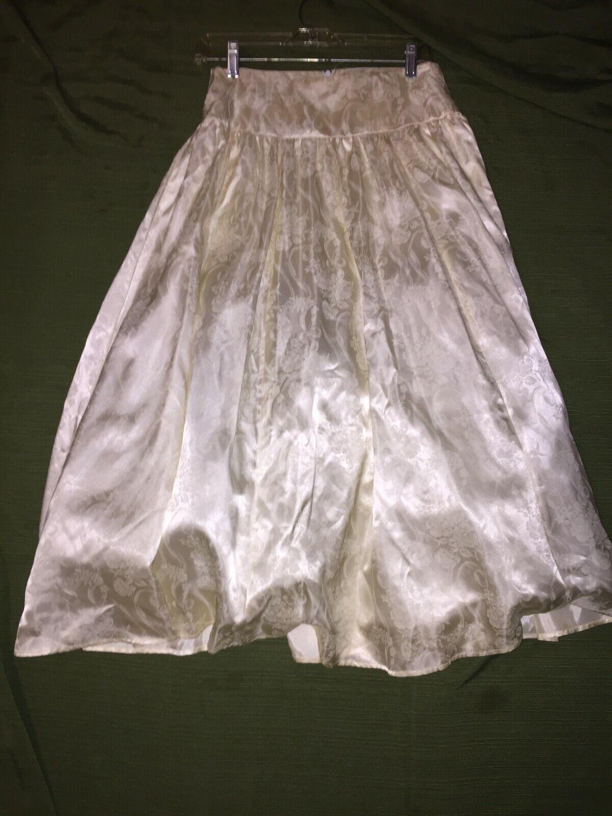 VINTAGE Jessica McClintock Crinoline Skirt 80s - image 5