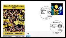Deutscher Fußballmeister 1996: Borussia Dortmund. FDC(1). Berlin. BRD 1996