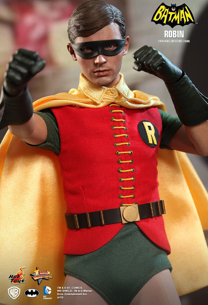 Hot Toys DC MMS219 - Batman 1966 Classic TV - 1 6 Robin Burt Ward Figure