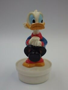 Bouchon Smarties  Mickey Mouse collection Picsou figurine vintage DISNEY