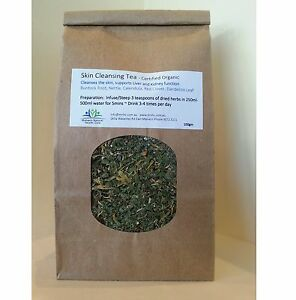 Organic-Herbal-Medicine-Detox-Tea-for-lymphatic-kidney-liver-amp-skin-100g