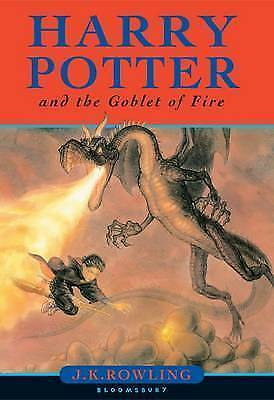 1 of 1 - Harry Potter and the Goblet of Fire (Book 4),Rowling, J. K.,Excellent Book mon00