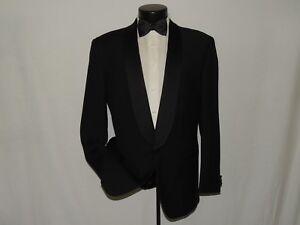 Royal-Canadian-men-039-s-Black-formal-shawl-collar-007-style-tuxedo-jacket-42-L